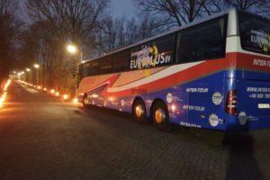 Jeżdżący autokar inter-tour