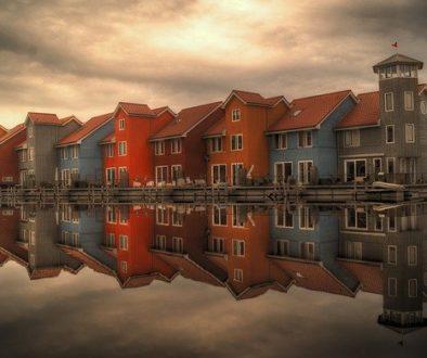 Domy w Holandii